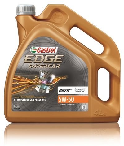 Castrol Edge supercar 5W-50